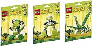 LEGO, Mixels Series 6 Bundle Set of Glorp Corp, Dribbal (41548), Gurggle (41549), and Slusho (41550)
