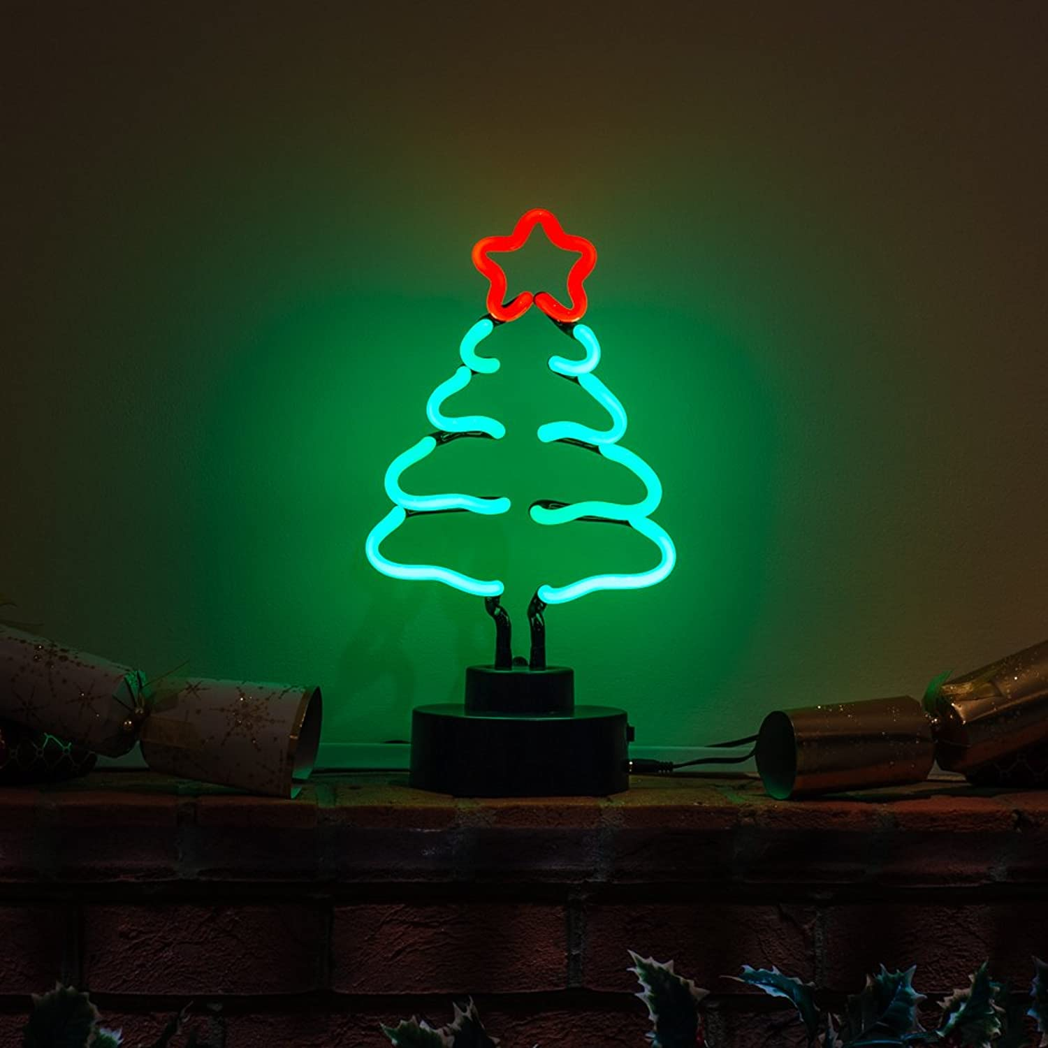Neon Sculpture Christmas Christmas Tree by Neonetics