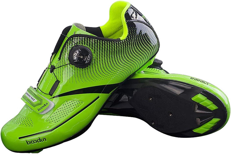 Walmeck- Rennradschuh Ultraleichtflugzeug Nylon rennradschuhe TPU Rennrad Sportlich Sportlich Reitschuhe Atmungsaktiv Auto-Lock Fahrrad Fahrradschuhe  Ihre Zufriedenheit ist unser Ziel