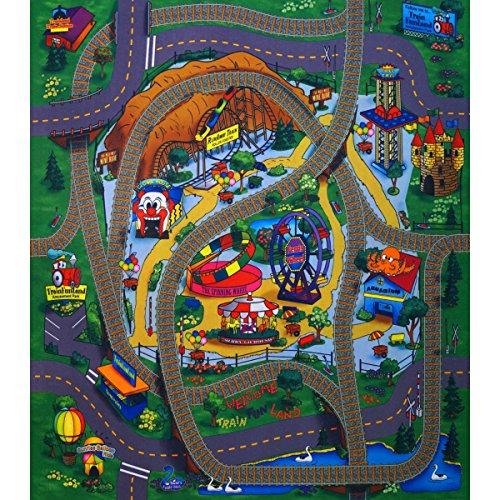 Unbekannt Tapis de Jeu Motif Amuse Place 70 x 80 cm
