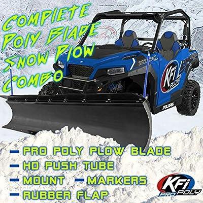 "RPM KFI 60"" Snow Plow Poly Blade & Mount Kit Kawasaki 400 Mule SX/XC 2017-2020"
