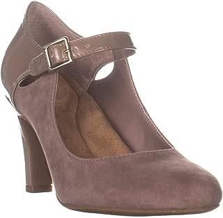 Giani Bernini Womens Velmah Leather Closed Toe Ankle Strap Mary Jane Pumps US