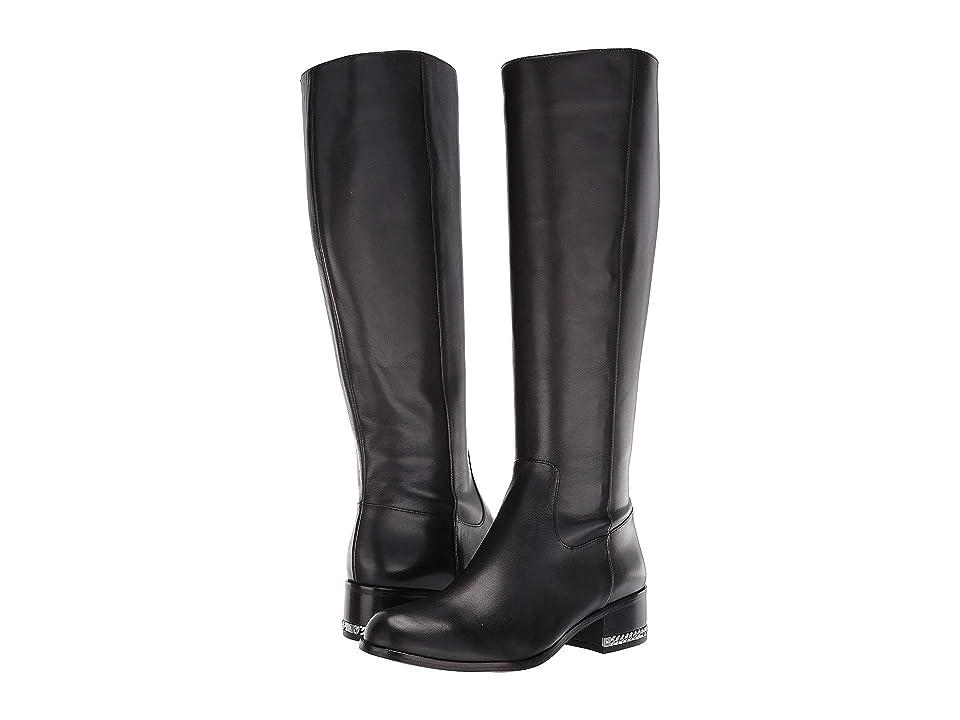 MICHAEL Michael Kors Walker Flat Boot (Black) Women