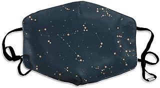 星座 ポリエステルマスク繊維通気性アウトドアファッション愛抗菌消臭風邪花粉症調節可能再利用可能ユニセックス