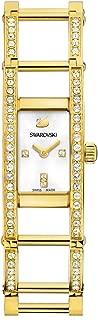 Swarovski Watch for Women Indira Yellow Gold Stainless Steel, 1186076