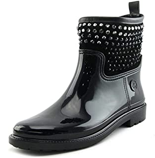 Michael Michael Kors Dani Stone Detail Rubber Rain Booties