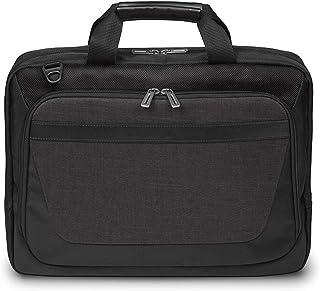 """Messenger Bag,Leather Laptop Briefcase,Fit 15.6""""inch Handbag,Black Bussiness Handbag,Crossbody for Men"""