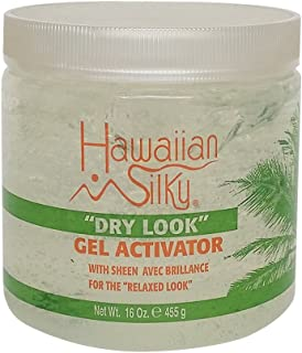 Hawaiian 10011 Silky Hawaiian silky dry look gel activator 16 fluid ounce, Gray, 16 Fl Ounce
