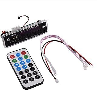 Bluetooth MP3 WMA Decoder Board,Wireless Bluetooth 4.2 MP3 Decoder Board Audio Modul,Drahtlos Decoder Board Audio Modul mit Freisprecheinrichtung,Unterstützt USB/SD Karte/Fernbedienung