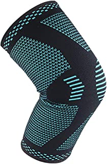 CapsA Knee Brace for Women Men Knee Sleeves Sports Knee Support Compression Braces Fit Under Uniform or Pants Best Knee Support for Running Cycling Hiking Basketball