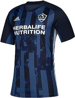 adidas LA Galaxy MLS Men's Blue Official Climalite Team Replica Jersey