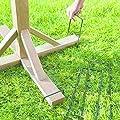 Unibos 4 x Bird Table Metal Stabiliser Pegs - Securing Bird Table - Anchoring Legs by Unibos
