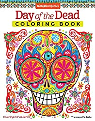 day of the dead dios de los muertos coloring book