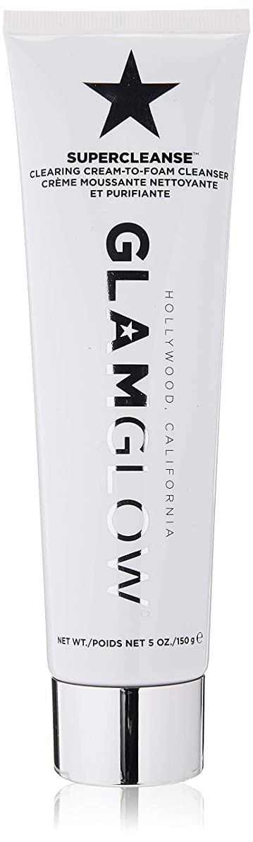 繕う教育する石鹸グラムグロー Supercleanse Clearing Cream-To-Foam Cleanser 150g/5oz並行輸入品