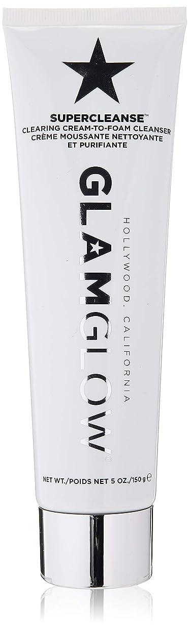 カフェテリア絶望改修するグラムグロー Supercleanse Clearing Cream-To-Foam Cleanser 150g/5oz並行輸入品