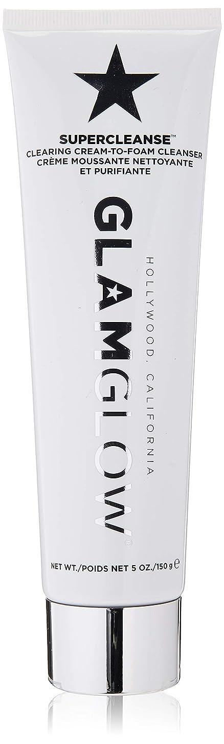 地図何ブルジョングラムグロー Supercleanse Clearing Cream-To-Foam Cleanser 150g/5oz並行輸入品