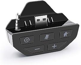 Jilin Adaptador de fone de ouvido estéreo – Conversor de fone de ouvido para Xbox One Gamepad