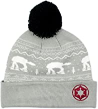 Official Star Wars at at Beanie/Bobble Hat Grey