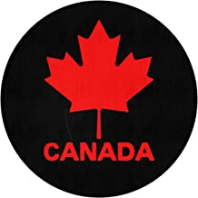 JJKKFG-H Canadian Flag Canada Maple Leaf Print Diameter 60 cm Entrance Rug Cutting Mat