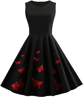 Best black butterfly vintage dresses Reviews