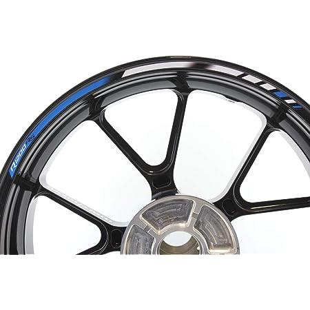 Impressiata Motosticker Kompatibel Für Motorrad Felgenaufkleber Specialgp Blau Kompletter Aufkleber Bmw R1200rs Auto