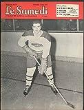 LE SAMEDI 3/5 1955: Canadiens Jackie Leclair; Therese Arbic; Tino Ross