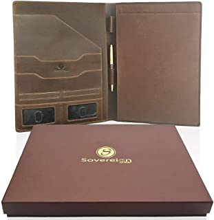Best leather notepad folder Reviews