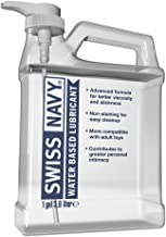 Swiss Navy Premium Water Based Lubricant,1 gal, MD Science Lab