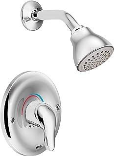 Moen L2352 Chateau Single Handle Posi-Temp Shower Faucet, Valve Included, Chrome