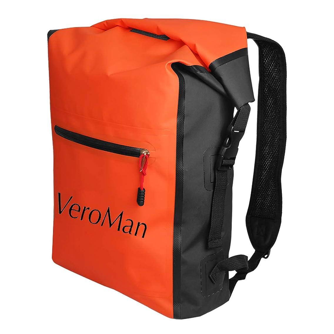 非互換比較的デモンストレーションVeroMan アウトドア ドライバッグ 防水バッグ 海水浴 登山 釣り ダイビング 自転車 多機能 大容量 25L