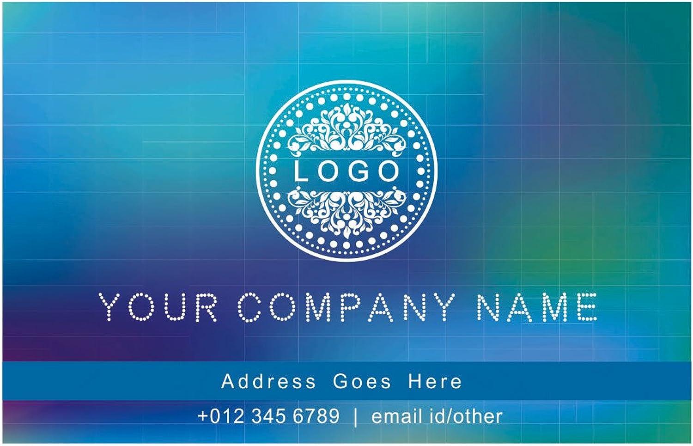 Entwerfen Sie Ihre eigene personalisierte Visitenkarten Kundenspezifische Berufs klassischer Entwurf Visiting Card- vorne B01EUKUPEG    Lebensecht