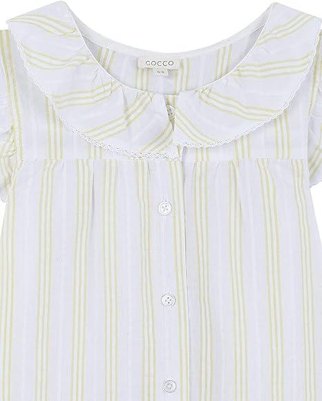 Gocco Rayas Conjuntos de Pijama para Niñas: Amazon.es: Ropa