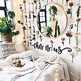 Hoagard - Metal Wall Art - This Is Us - decorazione in metallo per pareti - per saloni e camere da...