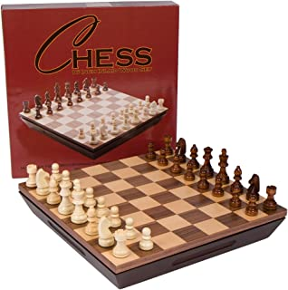 wooden chess board 16 inch