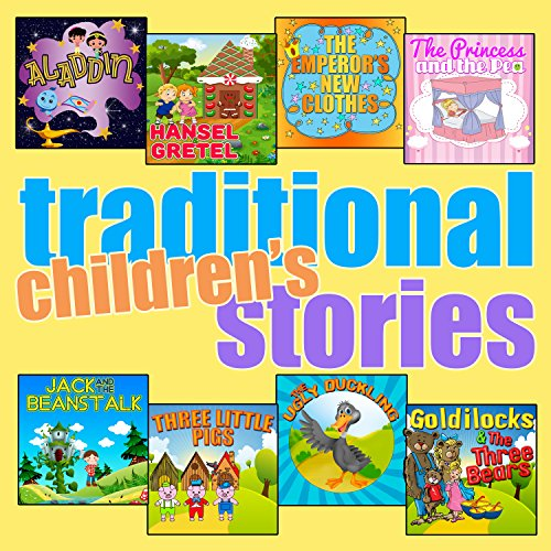 Traditional Children's Stories audiobook cover art