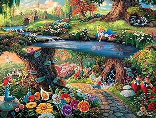 Charm Decoration Rompecabezas Alicia En El País De Las Maravillas De Disney Collection, 1000 Piezas