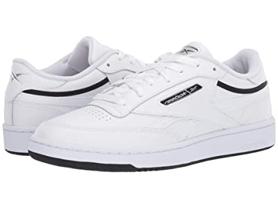 Reebok Lifestyle Club C Revenge Mu (White/Black/Silver Metallic) Men
