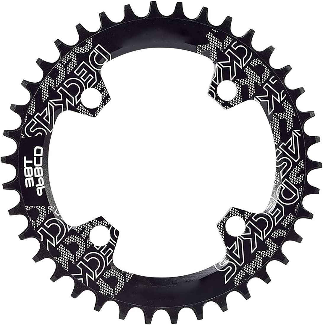 YonCog Round Bike Chain Ring Wide Popular popular Chainring 67% OFF of fixed price Narrow 32-38T 96BCD