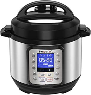 Instant PotDuo Nova Electric Multi Use Pressure Cooker, Stainless Steel, 3L