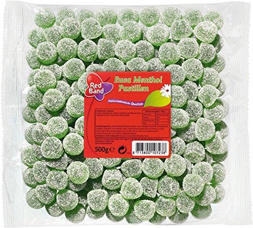Red Band Euca Menthol Frucht gummi 500 g, 1er Pack (1 x 0.5 kg)