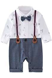 Nyan Cat Mays Baby Baby Toddler Boys The Cowboy Romper Onesie 3pcs Sets