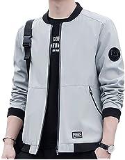 JHIJSC ジャケット MA-1 メンズ コート ブルゾン カジュアル 秋冬 無地 おしゃれ おおきいサイズ