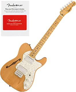 Squier 0374070521 Classic Vibe 70s Telecaster Thinline, Maple Fingerboard, Natur