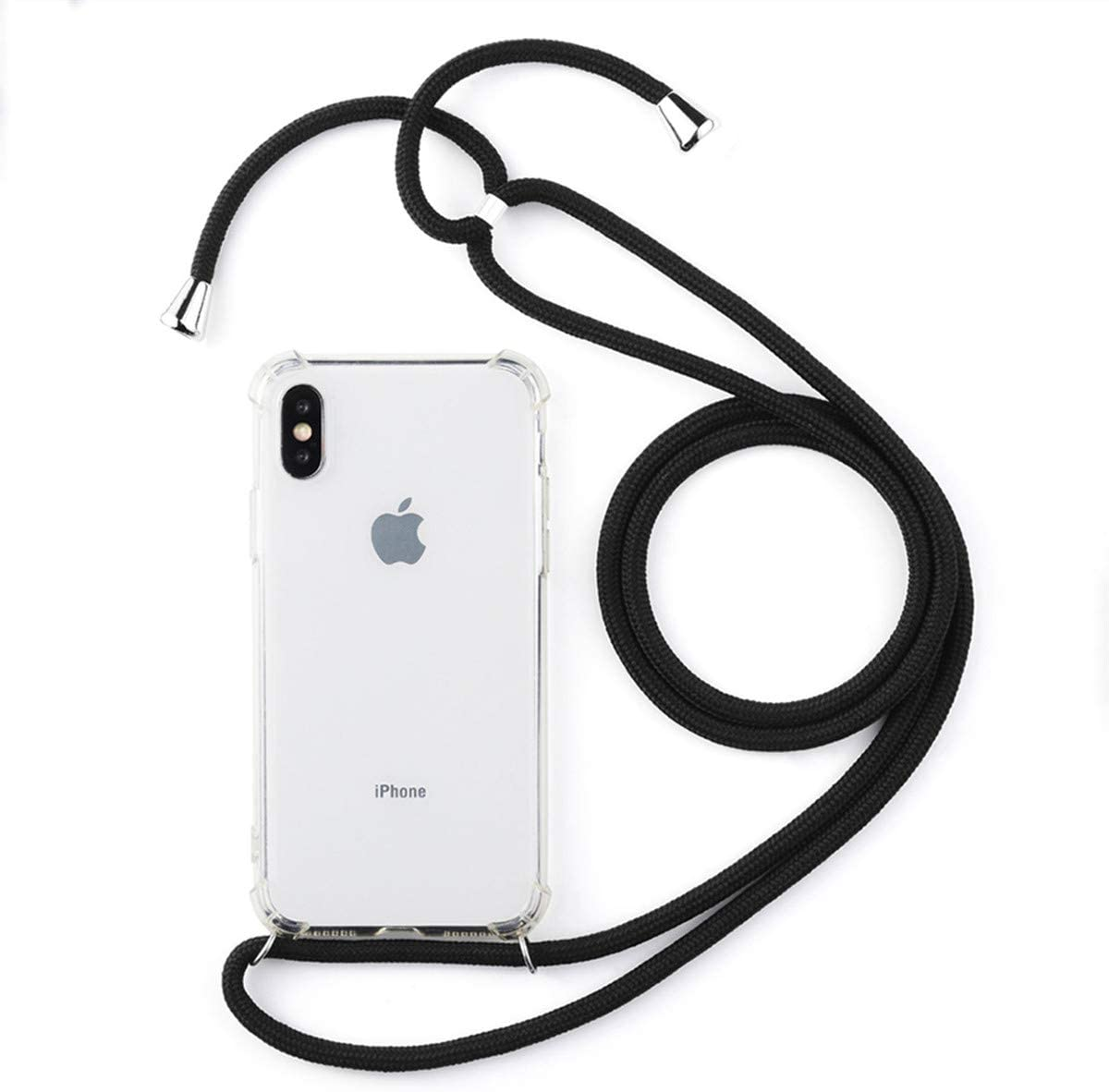 Galaxy S20 Ultra Case, Galaxy S20 Ultra 5G Case,Gift_Source Crystal Clear Soft Gel Rubber Thin Cover Shockproof TPU Bumper Case with Lanyard Strap for Samsung Galaxy S20 Ultra/S20 Ultra 5G 6.9