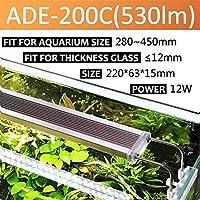 水槽ライト 水生植物LED照明水族館Chihiros 220V 12W 14W 18W 24W水槽用超薄型アルミニウム合金 (Color : ADE 200C)