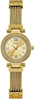 Guess Womens Quartz Watch, Analog Display and Stainless Steel Strap W1009L2