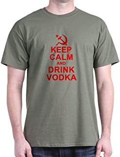 Keep Calm and Drink Vodka Cotton T-Shirt
