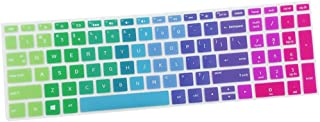 Franse displaybeschermfolie voor laptop toetsenbord gemaakt van siliconen voor laptop Hp15-bf Hp14-bf Hp15ab - regenboog