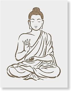 Best buddha stencil art Reviews
