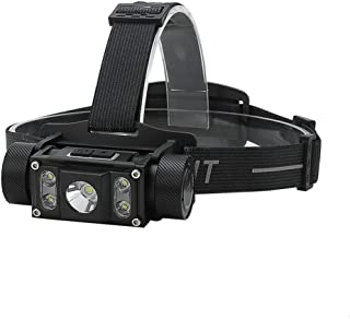Image of hhxiao LED Headlamp Led Headlamp Xm-l2+4xp-g2 Max.6000lm Headlight Rechargeable Head Torch Camping Hunting Flashlight